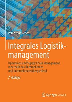 Schönsleben, Paul - Integrales Logistikmanagement, ebook
