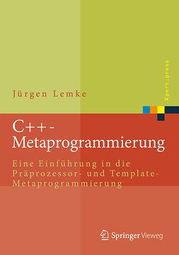 Lemke, Jürgen - C++-Metaprogrammierung, ebook