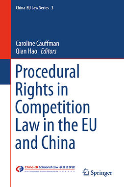 Cauffman, Caroline - Procedural Rights in Competition Law in the EU and China, ebook