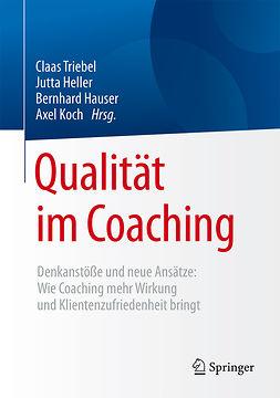 Hauser, Bernhard - Qualität im Coaching, e-kirja