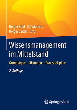 Kohl, Holger - Wissensmanagement im Mittelstand, ebook