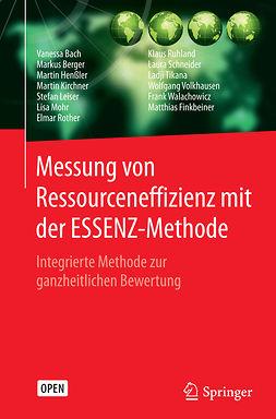 Bach, Vanessa - Messung von Ressourceneffizienz mit der ESSENZ-Methode, ebook