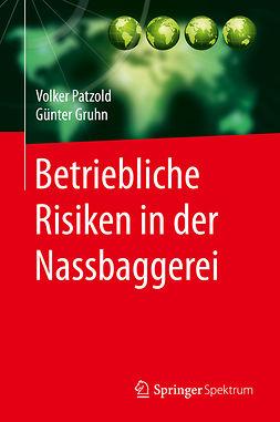 Gruhn, Günter - Betriebliche Risiken in der Nassbaggerei, e-bok