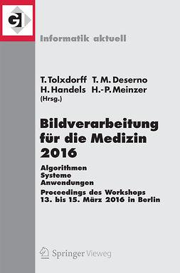 Deserno, Thomas M. - Bildverarbeitung für die Medizin 2016, ebook