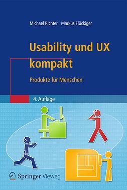 Flückiger, Markus D. - Usability und UX kompakt, ebook