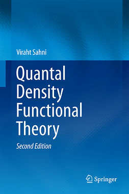 Sahni, Viraht - Quantal Density Functional Theory, ebook