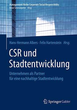 Albers, Hans-Hermann - CSR und Stadtentwicklung, ebook
