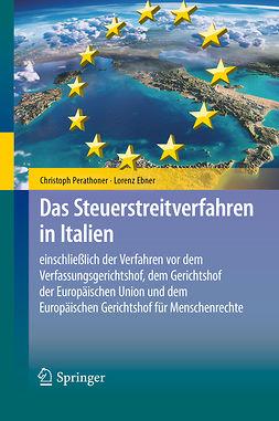 Ebner, Lorenz - Das Steuerstreitverfahren in Italien, ebook