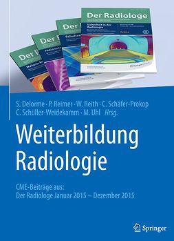 Delorme, Stefan - Weiterbildung Radiologie, ebook