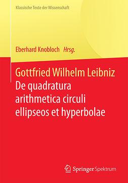 Knobloch, Eberhard - Gottfried Wilhelm Leibniz, e-kirja