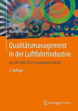 Hinsch, Martin - Qualitätsmanagement in der Luftfahrtindustrie, e-bok