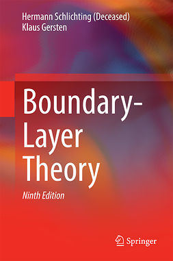 (Deceased), Hermann Schlichting - Boundary-Layer Theory, ebook