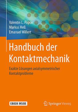 Heß, Markus - Handbuch der Kontaktmechanik, ebook