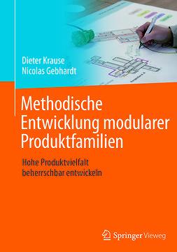 Gebhardt, Nicolas - Methodische Entwicklung modularer Produktfamilien, ebook