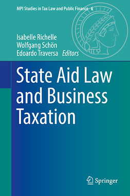 Richelle, Isabelle - State Aid Law and Business Taxation, e-bok