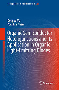 Chen, Yonghua - Organic Semiconductor Heterojunctions and Its Application in Organic Light-Emitting Diodes, e-bok