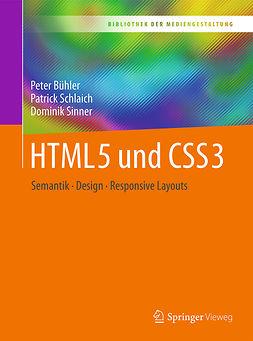 Bühler, Peter - HTML5 und CSS3, ebook