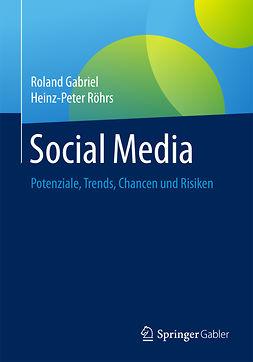 Gabriel, Roland - Social Media, ebook