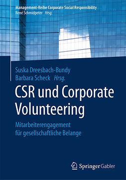 Dreesbach-Bundy, Suska - CSR und Corporate Volunteering, ebook