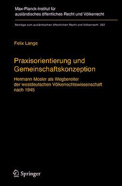 Lange, Felix - Praxisorientierung und Gemeinschaftskonzeption, e-kirja