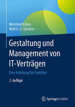 Erben, Meinhard - Gestaltung und Management von IT-Verträgen, ebook