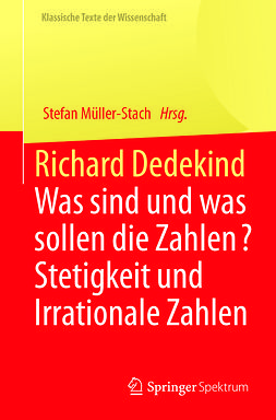 Müller-Stach, Stefan - Richard Dedekind, ebook