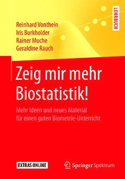 Burkholder, Iris - Zeig mir mehr Biostatistik!, ebook