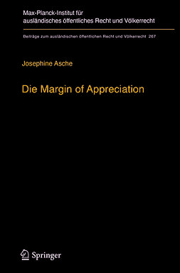 Asche, Josephine - Die Margin of Appreciation, ebook