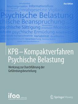 - KPB - Kompaktverfahren Psychische Belastung, ebook