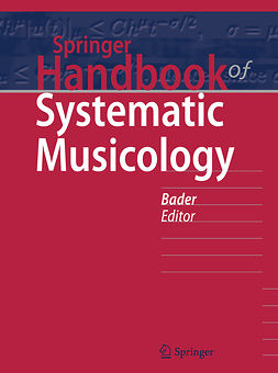 Bader, Rolf - Springer Handbook of Systematic Musicology, ebook
