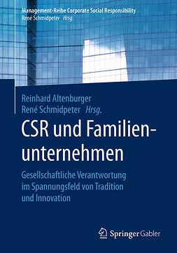 Altenburger, Reinhard - CSR und Familienunternehmen, e-kirja
