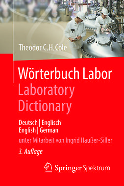 Cole, Theodor C.H. - Wörterbuch Labor / Laboratory Dictionary, ebook