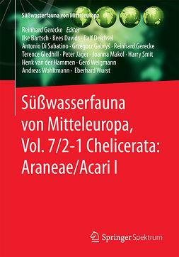Bartsch, Ilse - Süßwasserfauna von Mitteleuropa, Vol. 7/2-1 Chelicerata: Araneae/Acari I, ebook