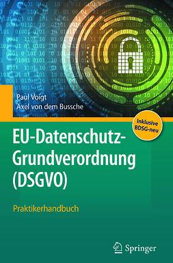 Bussche, Axel von dem - EU-Datenschutz-Grundverordnung (DSGVO), e-kirja