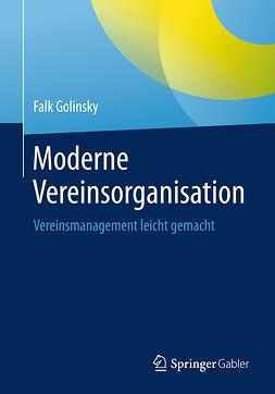 Golinsky, Falk - Moderne Vereinsorganisation, ebook