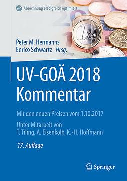 Eisenkolb, Alexander - UV-GOÄ 2018 Kommentar, ebook