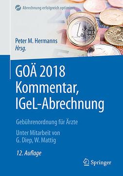 Diep, Godehard - GOÄ 2018 Kommentar, IGeL-Abrechnung, ebook