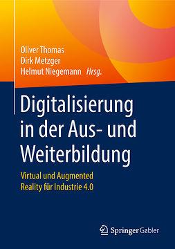 Metzger, Dirk - Digitalisierung in der Aus- und Weiterbildung, ebook