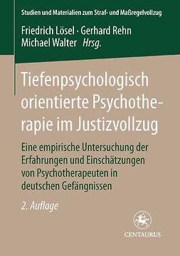 Pecher, Willi - Tiefenpsychologisch orientierte Psychotherapie im Justizvollzug, ebook