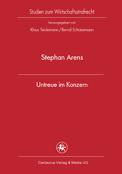 Arens, Stephan - Untreue im Konzern, ebook