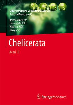 Gerecke, Reinhard - Süßwasserfauna von Mitteleuropa, Bd. 7/2-3 Chelicerata, e-bok