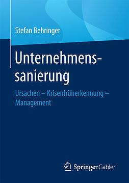 Behringer, Stefan - Unternehmenssanierung, ebook