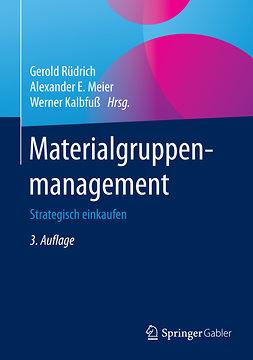 Kalbfuß, Werner - Materialgruppenmanagement, ebook