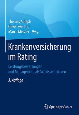 Adolph, Thomas - Krankenversicherung im Rating, ebook