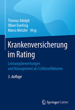 Adolph, Thomas - Krankenversicherung im Rating, e-kirja