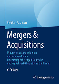 Jansen, Stephan A. - Mergers & Acquisitions, ebook