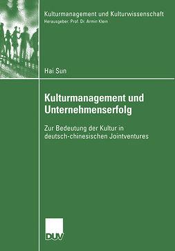 Sun, Hai - Kulturmanagement und Unternehmenserfolg, ebook