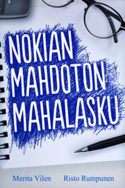 Rumpunen, Risto - Nokian mahdoton mahalasku, e-kirja