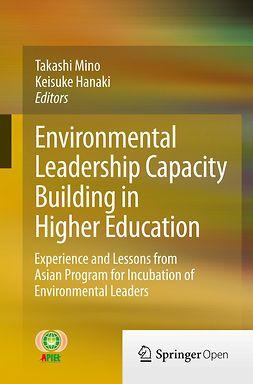 Hanaki, Keisuke - Environmental Leadership Capacity Building in Higher Education, ebook
