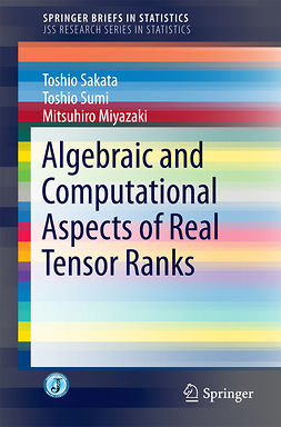 Miyazaki, Mitsuhiro - Algebraic and Computational Aspects of Real Tensor Ranks, ebook
